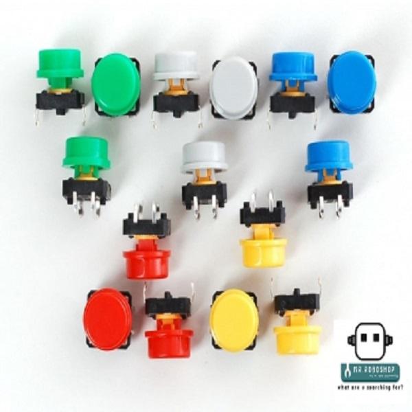 (Red Cap) Medium Tactile Switch