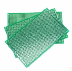 10*15 SINGLE SIDE FIBER GLASS GREEN Board Prototype PCB Universal Board