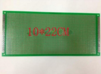 10*22CM PCB single side 1.6 thick 2.54 pitch pcb circuit Board