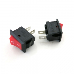Ship Type Switch 8.5*13.5 Black 2Pin 250VAC/3A ON-OFF