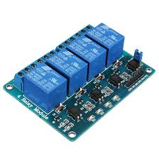 4 Channel relay Module compatible with arduino