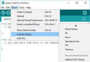 Cara tambahkan 'Library' ke Arduino IDE